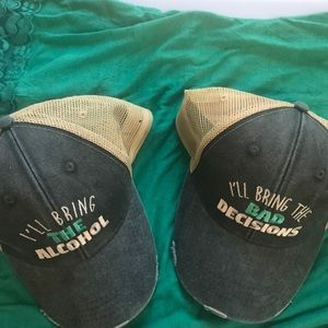 Piper Lou friendship trucker hats (2 hats)